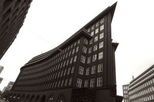 The Chilehaus - Hamburg Germany - July 2015