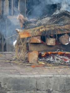 Read about the sacred public cremation of bodies in Pashupati, Nepal, near Kathmandu, at www.beautifulfillment.com