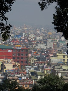 Top of the City - Kathmandu, Nepal - What was Kathmandu, Nepal like before the earthquake? Read its colorful story from a bird's eye view at www.beautifulfillment.com