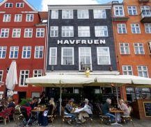 Havfruen: The Little Mermaid Cafe - Copenhagen Denmark - by Anika Mikkelson - Miss Maps
