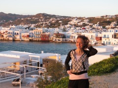 Mykonos, Greece - April 2015