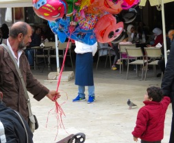 Wishing for a balloon - Crete, Greece - by Anika Mikkelson - Miss Maps