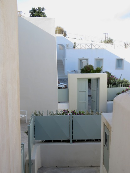 White Homes of Santorini, Greece - April 2015 - by Anika Mikkelson - Miss Maps