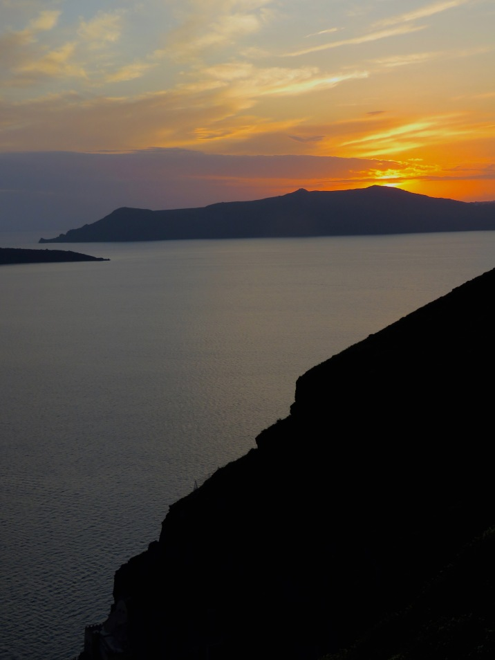 Santorini, Greece - April 2015