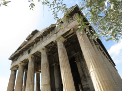 The Ancient Agora of Athens Greece - by Anika Mikkelson - Miss Maps