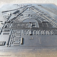 A Map of Sachsenhausen Concentration Camp Memorial - Learn more at www.beautifulfillment.com