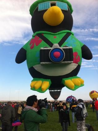 Albuquerque Balloon Fiesta Camera Penguin- visit www.beautifulfillment.com for more inspirations!
