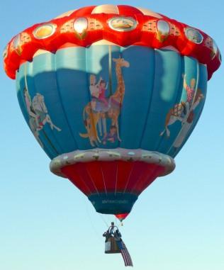 Albuquerque Balloon Fiesta Merry Go Round- visit www.beautifulfillment.com for more inspirations!