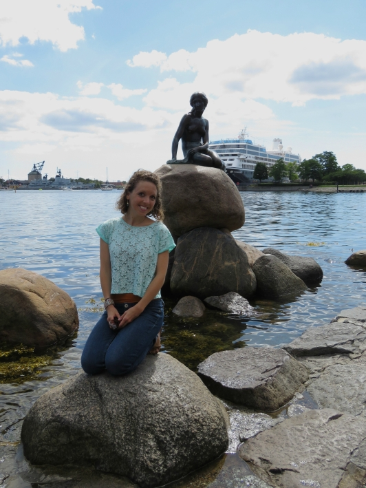 The Little Mermaid Statue, Copenhagen, Denmark
