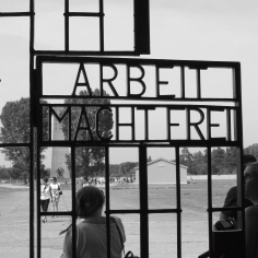 """Arbeit Macht Frei """"Work Makes You Free"""" at Sachsenhausen Concentration Camp Memorial - Learn more at www.beautifulfillment.com"""