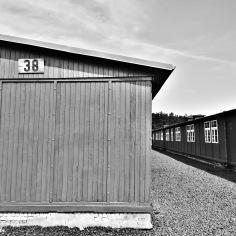 Barracks at Sachsenhausen Concentration Camp Memorial - Learn more at www.beautifulfillment.com