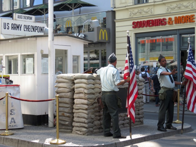 Checkpoint Charlie Berlin Tourism McDonalds - Read on at www.beautifulfillment.com