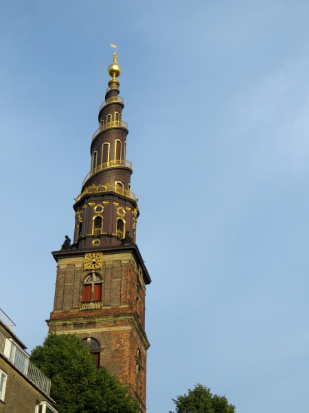 The spire of The Church of Our Saviour has 400 steps winding to the top which visitors can climb daily in the warmer months - Read more about sites and activities in Copenhagen, Denmark at www.beautifulfillment.com