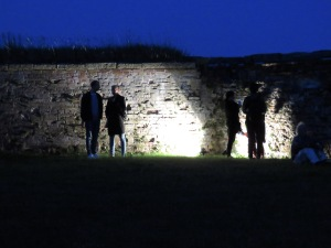 Intermission at Dusk During Hamlet, played at the Shakespeare Festival of Kronborg Castle in Helsingore (Elsinore) DenmarkRead the story at www.beautifulfillment.com