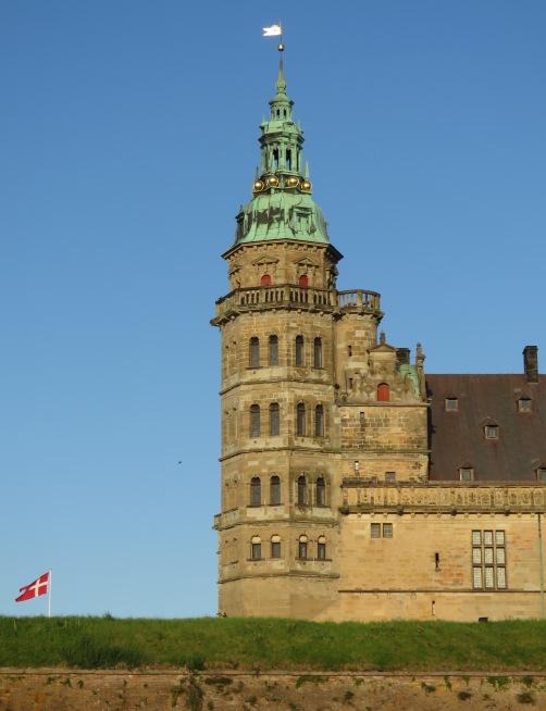 Kronborg Castle in Helsingore (Elsinore) Denmark. Read the story at www.beautifulfillment.com