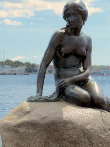 The Little Mermaid Statue, Copenhagen, Denmark