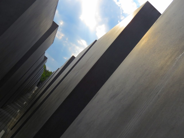 Memorial to the Murdered Jews of Europe Sun and Sky - Read More at www.BeautiFulfillment.com
