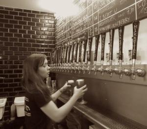 Mikkeller Brewery Female Bartender