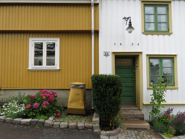 Oslo's Old Wooden Houses. Read the story at www.beautifulfillment.com