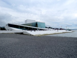 Oslo's Opera House. Read the story at www.beautifulfillment.com