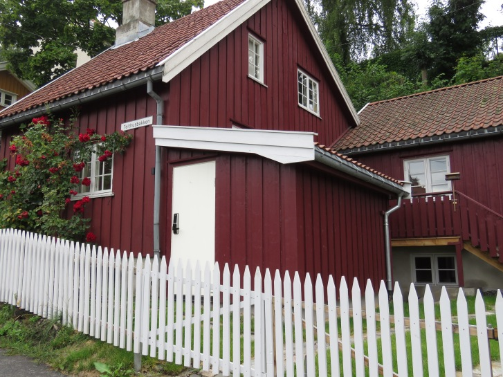 Oslo's Wooden Houses - Read More at www.beautifulfillment.com