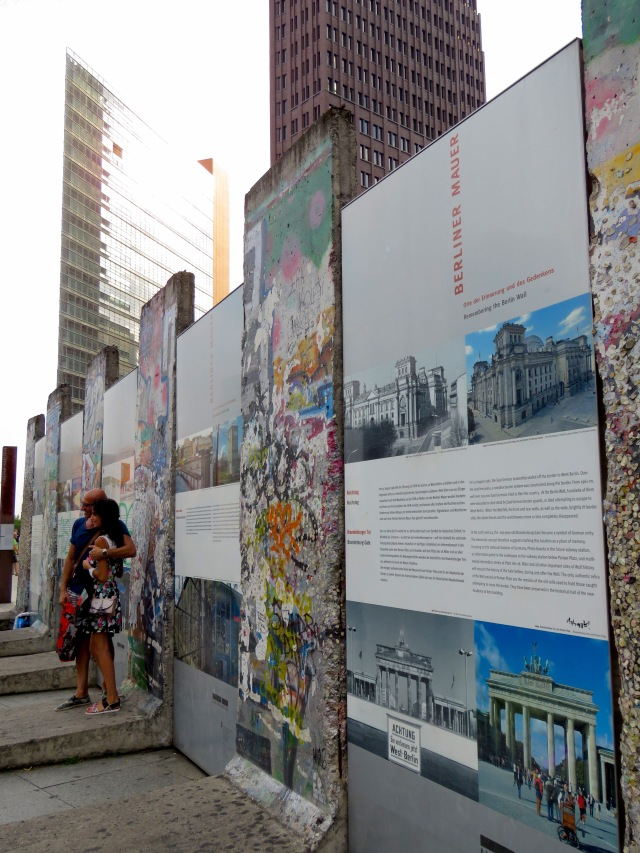 Pieces of the Berlin Wall - Read on at www.beautifulfillment.com