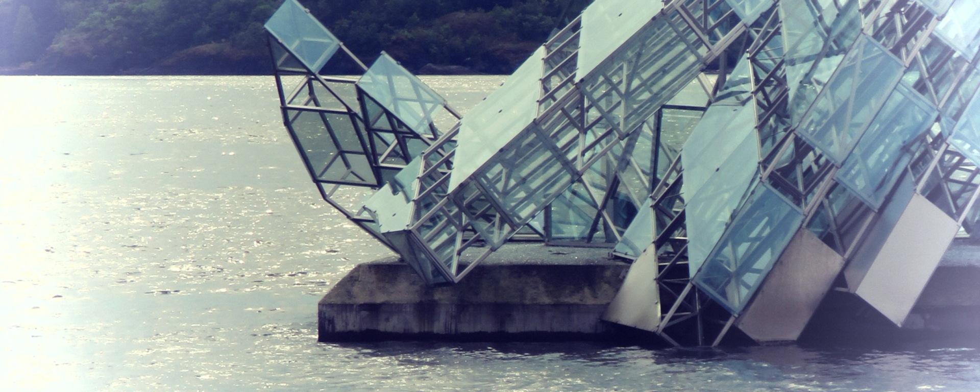 The Iceberg of Oslo's Opera House. Read More at www.beautifulfillment.com