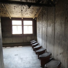 WCs were only used twice daily - Sachsenhausen Concentration Camp Memorial - Learn more at www.beautifulfillment.com