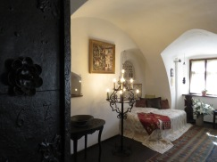 Bedroom of Queen Mary of Romania - Bran Castle - Anika Mikkelson www.MissMaps.com