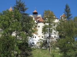 Behind Bran Castle - Anika Mikkelson www.MissMaps.com
