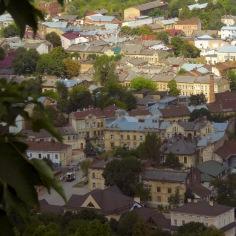 Bird's Eye View of Lviv by Anika Mikkelson - www.MissMaps.com