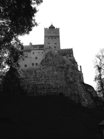 Bran Castle Black and White - Anika Mikkelson www.MissMaps.com