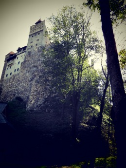 Bran Castle in a Creepy Light - Anika Mikkelson www.MissMaps.com