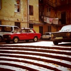 Classic Car 2 Lviv Ukraine by Anika Mikkelson - www.MissMaps.com