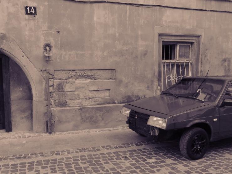 Classic Car 6 Lviv Ukraine by Anika Mikkelson - www.MissMaps.com