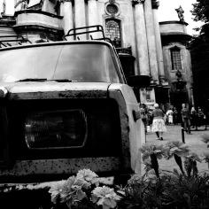 Classic Car 8 Lviv Ukraine by Anika Mikkelson - www.MissMaps.com