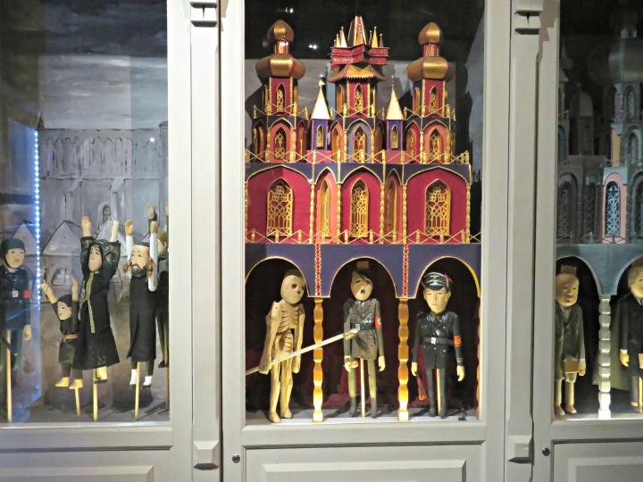 Hitler Puppet at Schindler's Factory Krakow - Read more at www.beautifulfillment.com