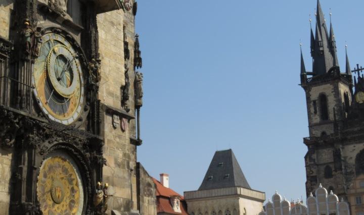 Prague's Main Square - Read more at www.beautifulfillment.com
