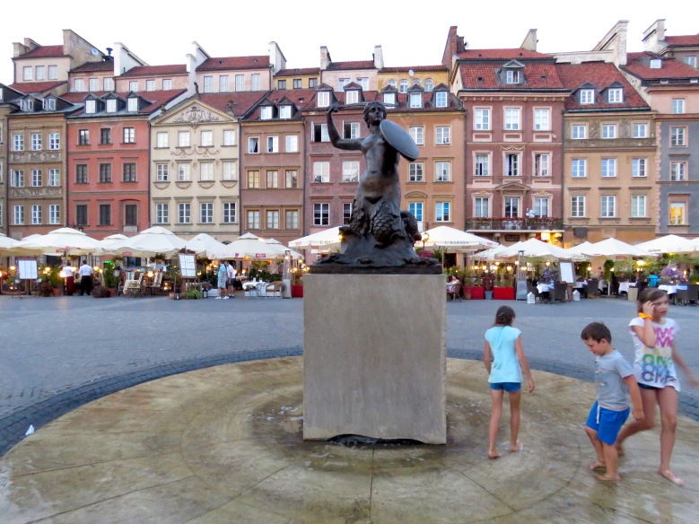 Old Town's Syrenka Warszawska: Mermaid of Warsaw - Read more at www.MissMaps.com