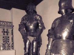 Knights in Shining Armor Bran Castle - Anika Mikkelson www.MissMaps.com