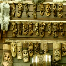 Laughing Masks Bran Castle - Anika Mikkelson www.MissMaps.com