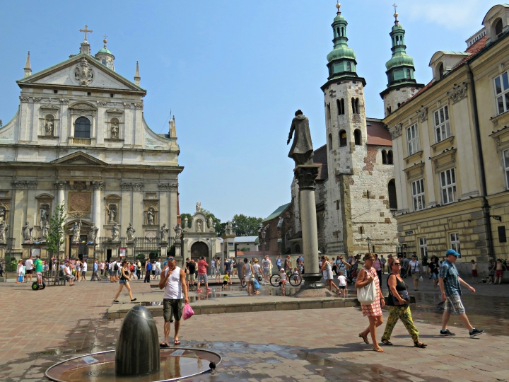 Saint Maria Magdalena Square, Krakow - By Anika Mikkelson www.MissMaps.com