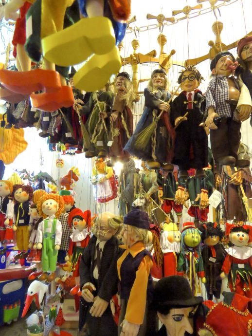 Marionettes of Prague - Read more at www.beautifulfillment.com