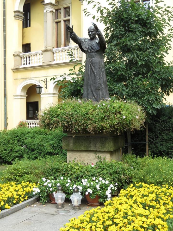 Pope John Paul II - Krakow - Read more at www.beautifulfillment.com