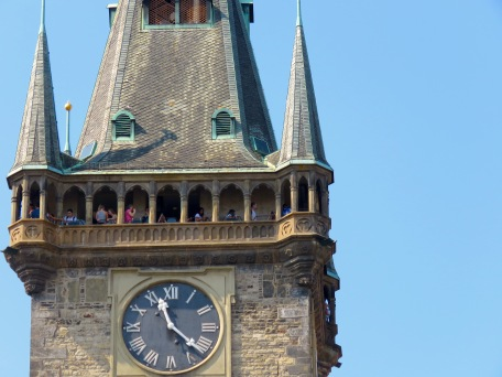 Prague Clock Tower - Read more at www.beautifulfillment.com