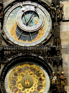 Prague's Astronomical Clock - Read more at www.beautifulfillment.com