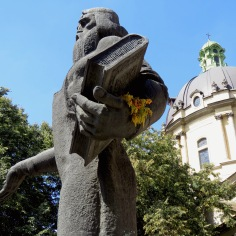 Statue of Ivan Fyodorov - Lviv Ukraine by Anika Mikkelson - www.MissMaps.com