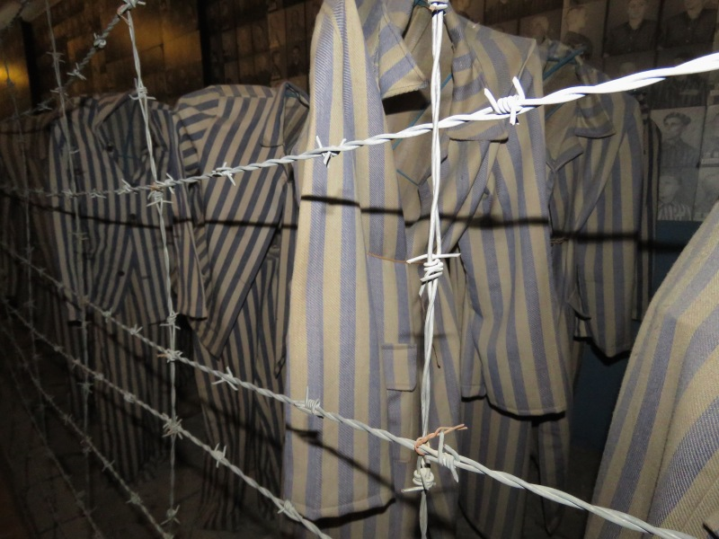 Striped Pajamas and Barbed Wire Auschwitz - Read more at www.beautifulfillment.com