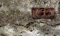Transsylvania Sign Bran Castle - Anika Mikkelson www.MissMaps.com
