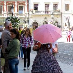 Umbrellas and Sunshine - Lviv by Anika Mikkelson - www.MissMaps.com